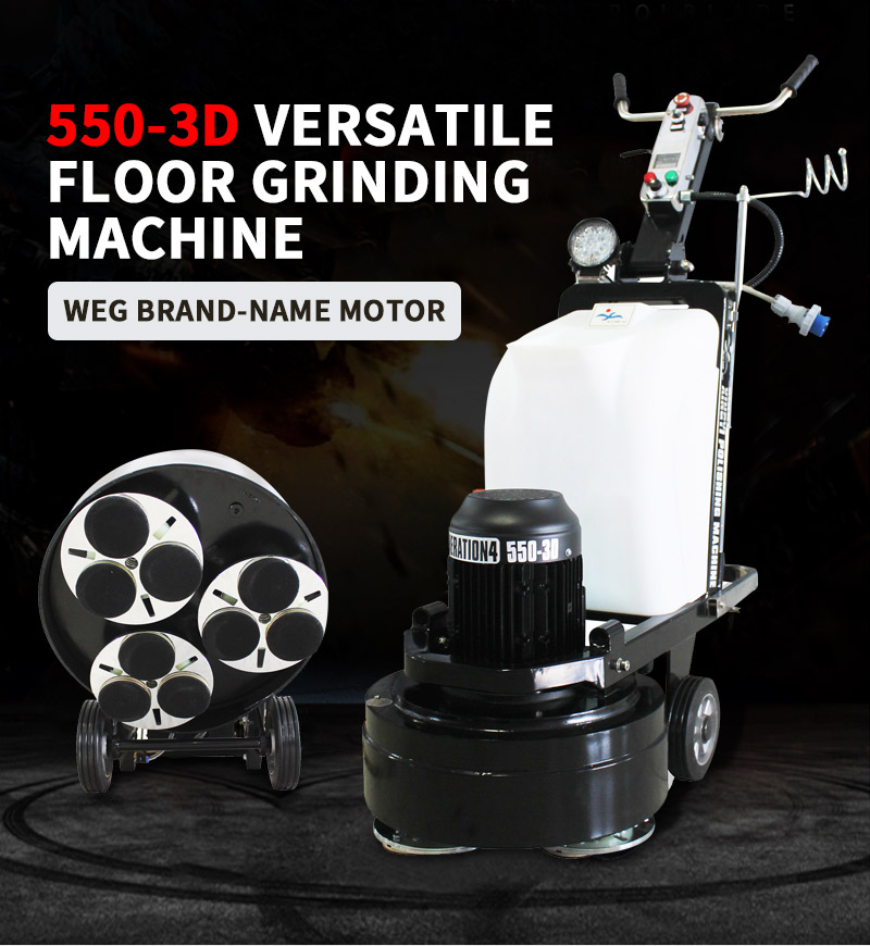 Floor surface polishing machine for home use