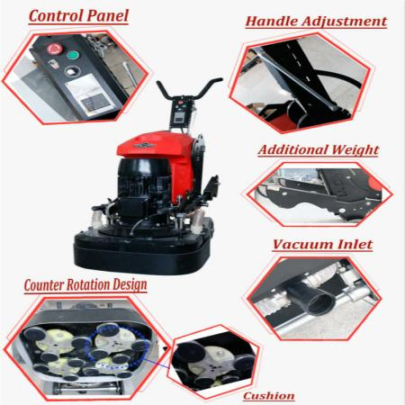700LE Powerful concrete floor grinder and polisher machine